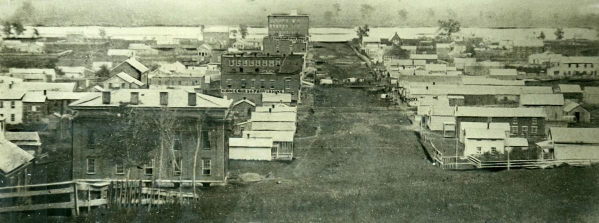 Omaha in 1854