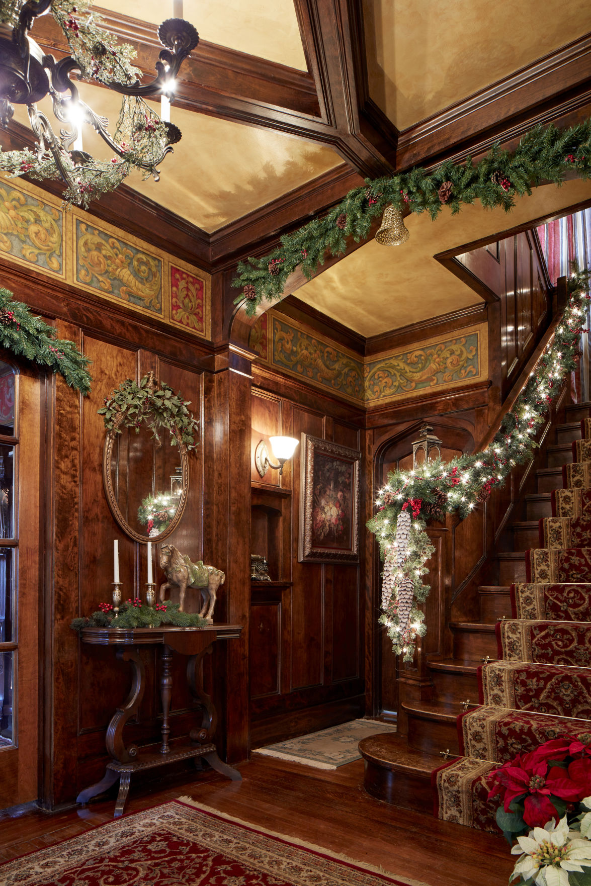 Crazy for Christmas Omahans dress every room in their palace for