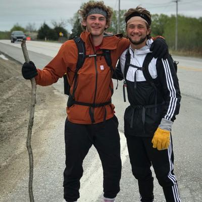 Husker wrestlers walk from Lincoln to Omaha and back