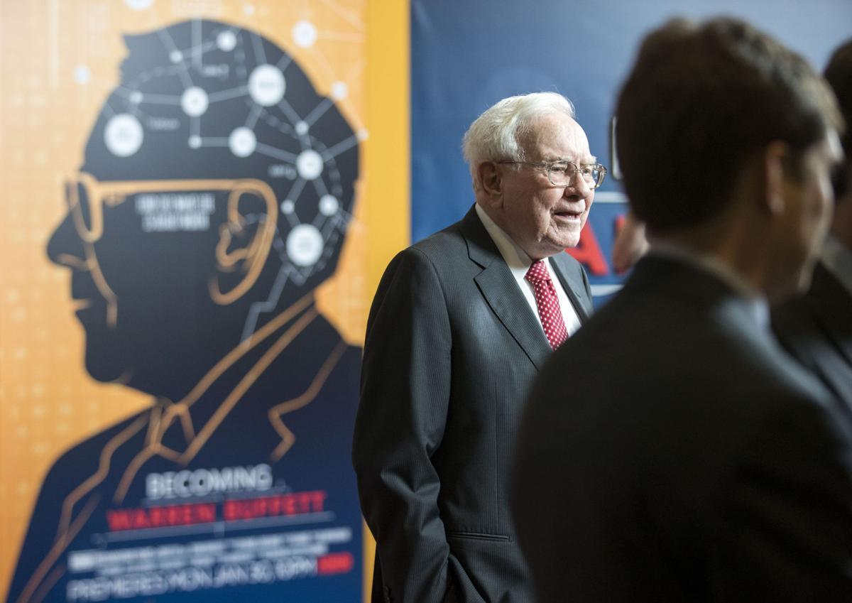 """""""Becoming Warren Buffet"""" red carpet event"""