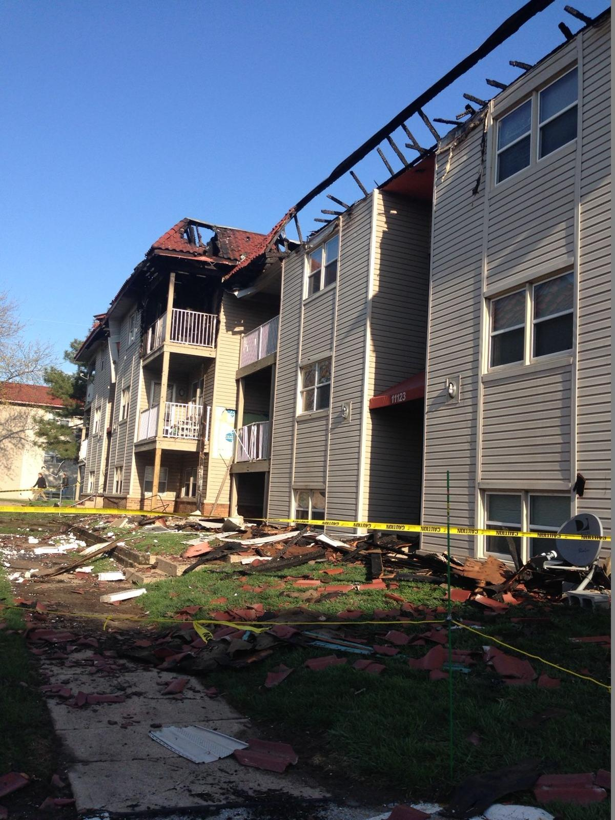 Apartment fire that displaced 23 was caused by a grill on a deck ...
