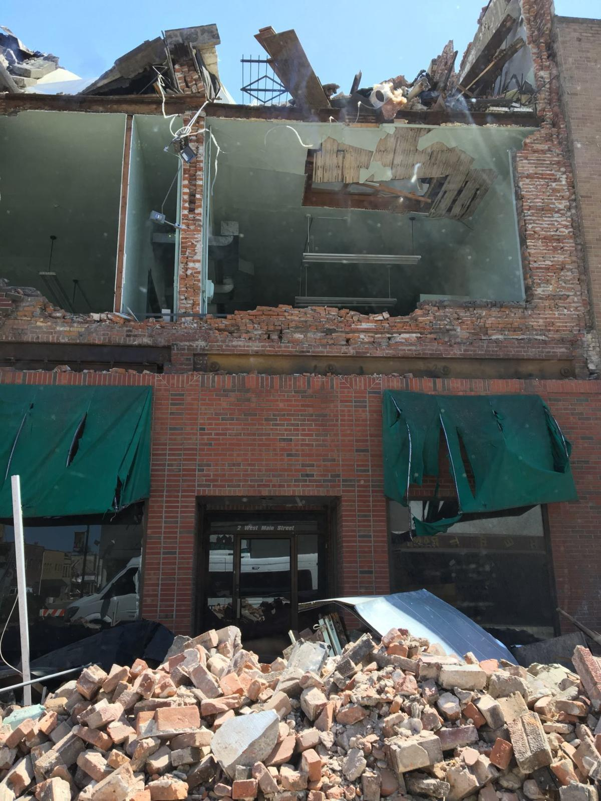 Tornado dealt harsh blow to Marshalltown's business district