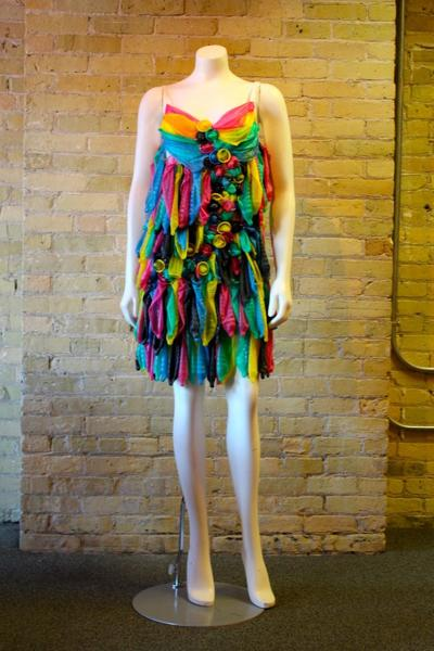 Prom Dresses Made Of Condoms On Display In Omaha To Encourage Safe