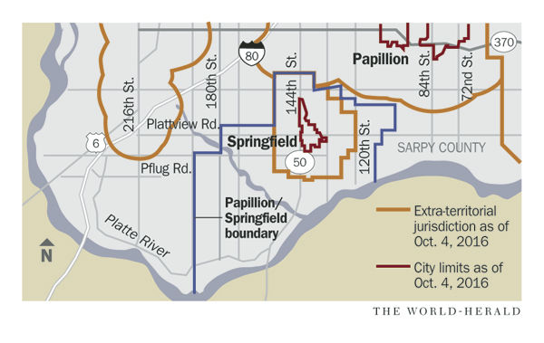Springfield Drops Lawsuits Against Papillion As Cities And Sarpy