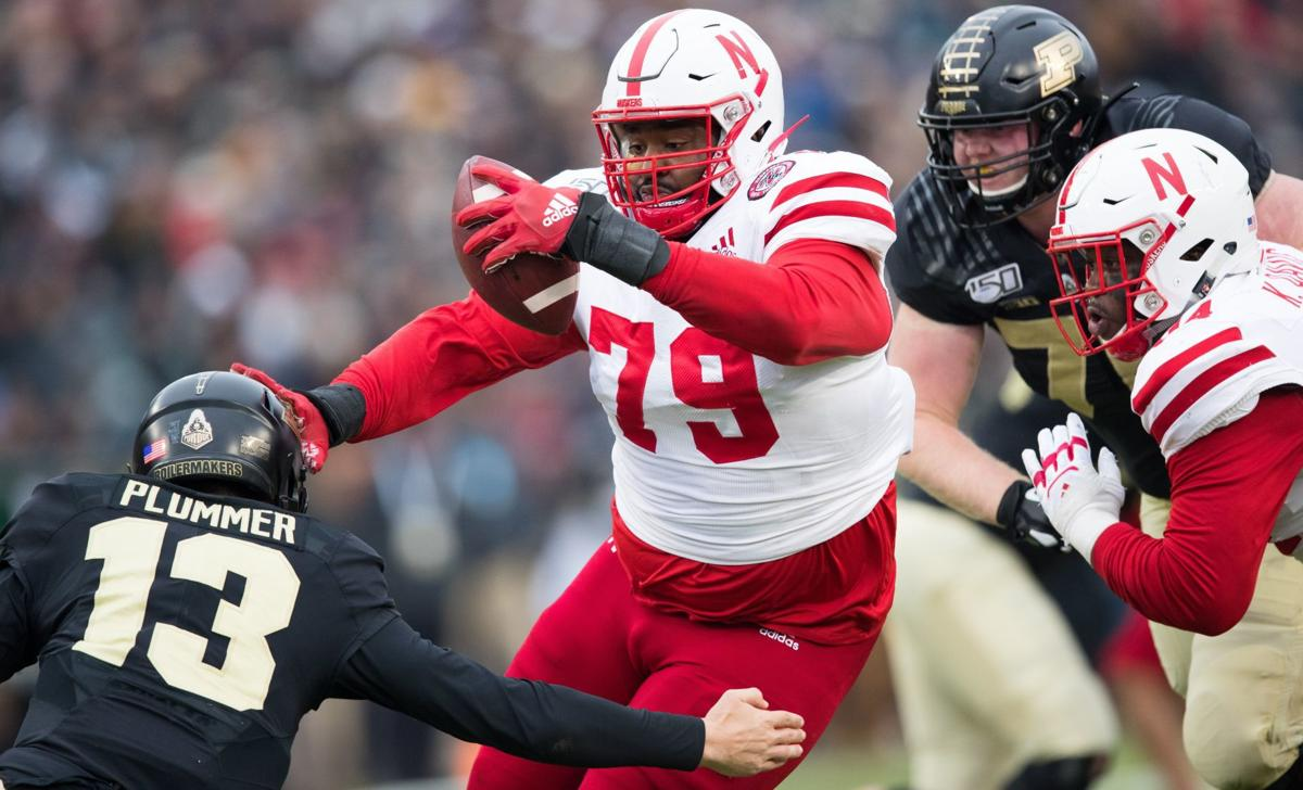 Scrutiny from 'Pops' helped former Husker Darrion Daniels prepare for the NFL draft