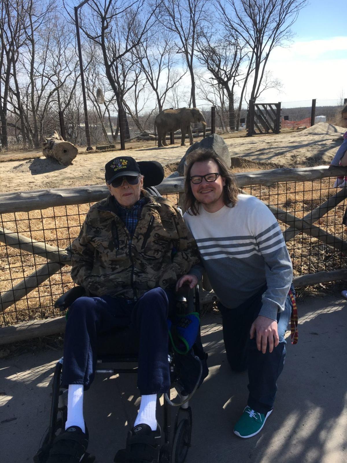 Elephants love reunions: Omaha man memorializes wife through her love for elephants