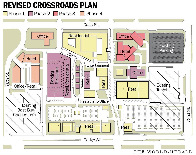 Crossroads Mall plan