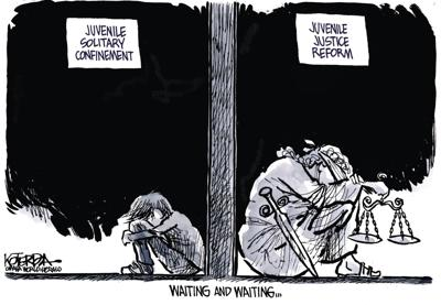 Jeff Koterba's latest cartoon: A long and lonely wait