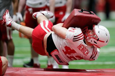 It's 'only up from here' for Omaha Burke grad and Nebraska freshman Nick Henrich after debut