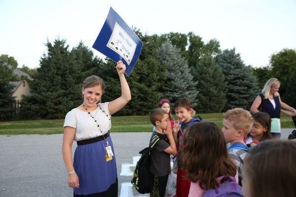 Send us your first day of school photos!