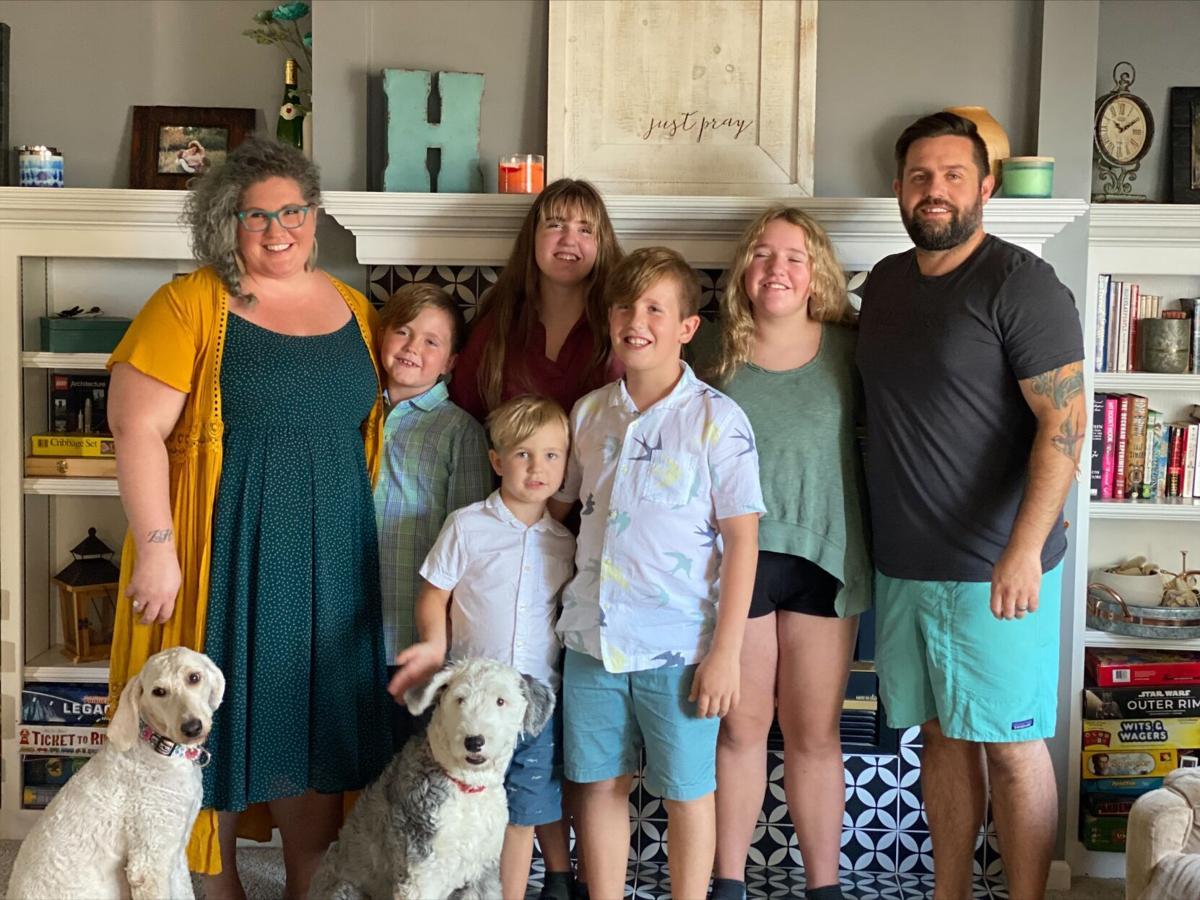 Higginson family photo 2021