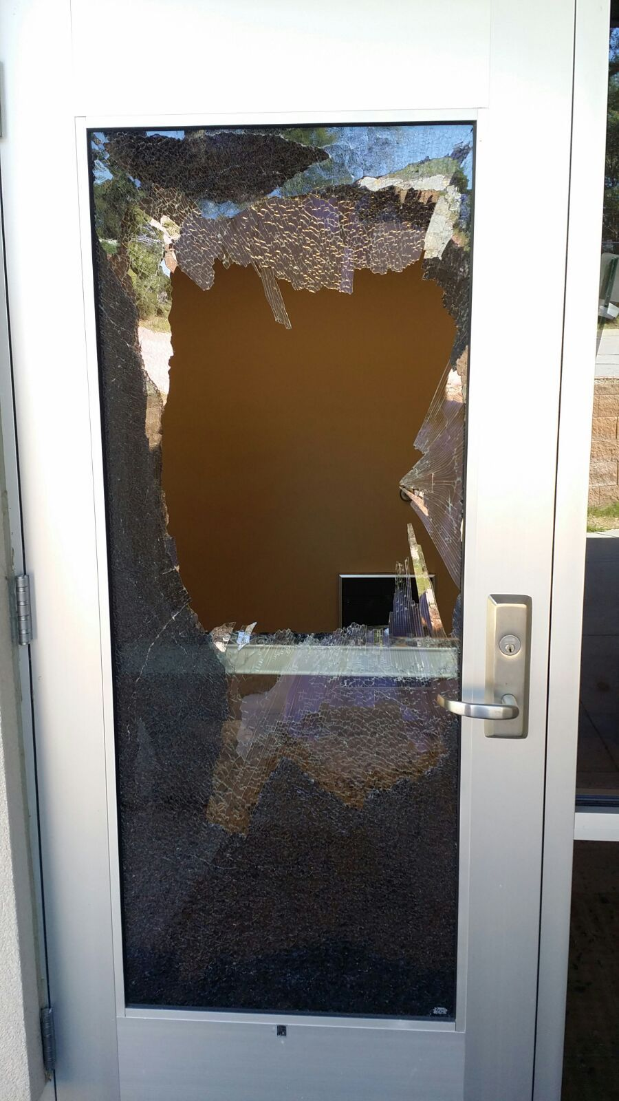 Rock breaks glass door at islamic center of omaha crime courts door broken at islamic center of omaha planetlyrics Image collections
