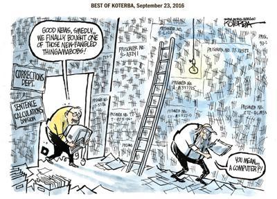 Best of Jeff Koterba's cartoons: Prison math