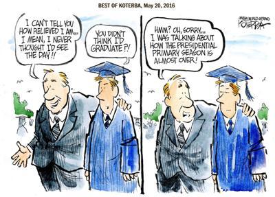 The best of Jeff Koterba's cartoons: It's finally here