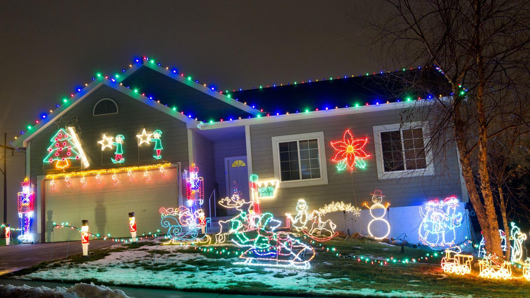 Christmas Lights Map 2020 Omaha 2019's best Omaha area neighborhoods to see holiday lights