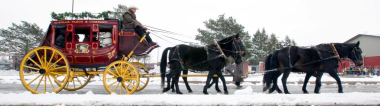 Wells Fargo bringing horse-and-stagecoach team to holiday festival ...