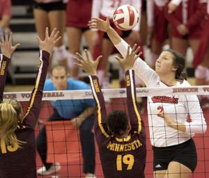 'Big, physical' Boilermakers hoping to add to Nebraska volleyball's bruises