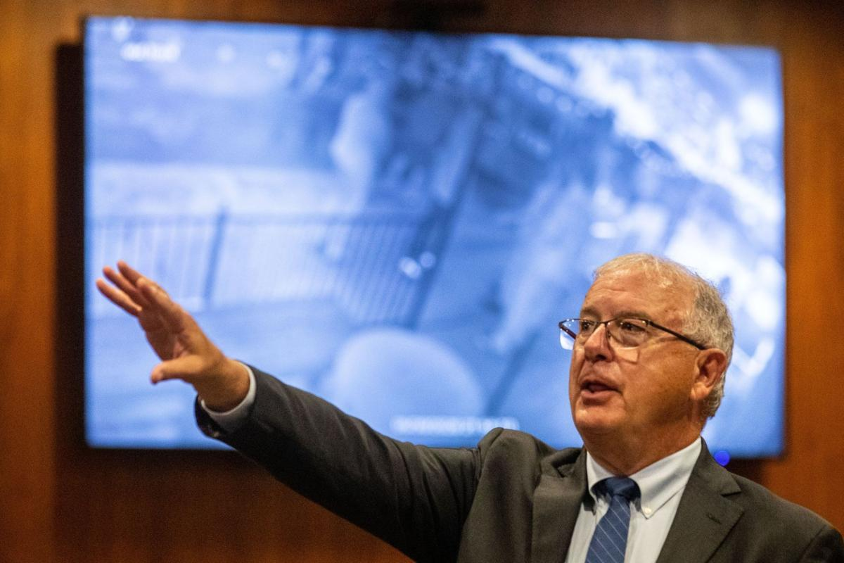 Don Kleine at press conference (copy)