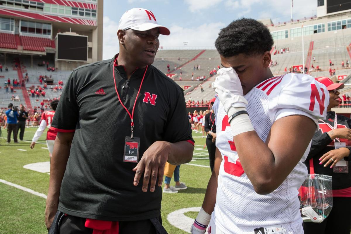 Keyshawn Johnson Pulls Son Out of Nebraska, Becomes Father of the Year Candidate