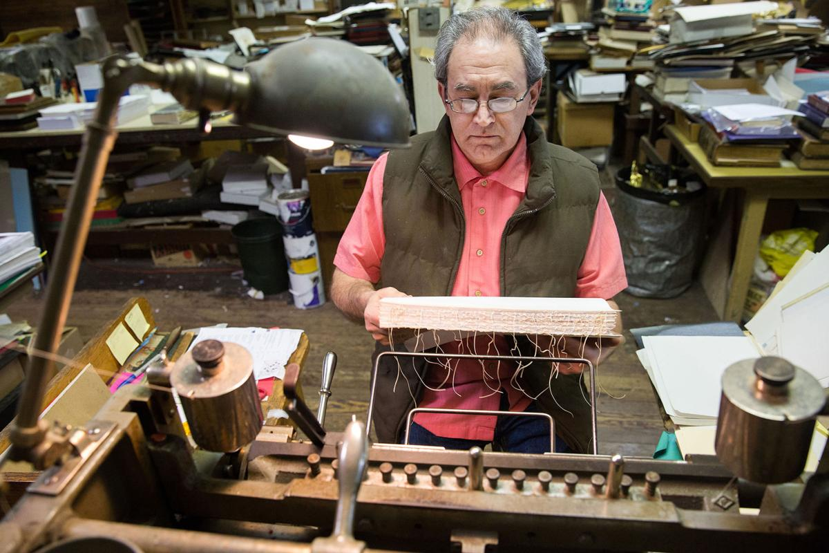 Kevin Brown of Capitol Bindery