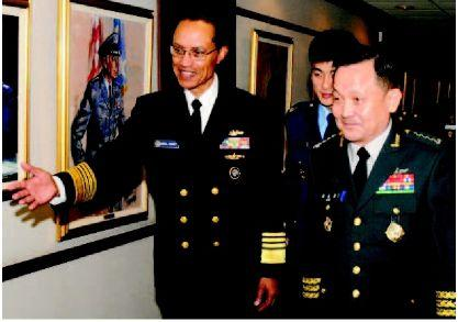 StratCom chief, South Korean general talk defense at Offutt