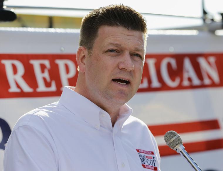 Gubernatorial candidate Beau McCoy kicks off 4-day tour of Nebraska