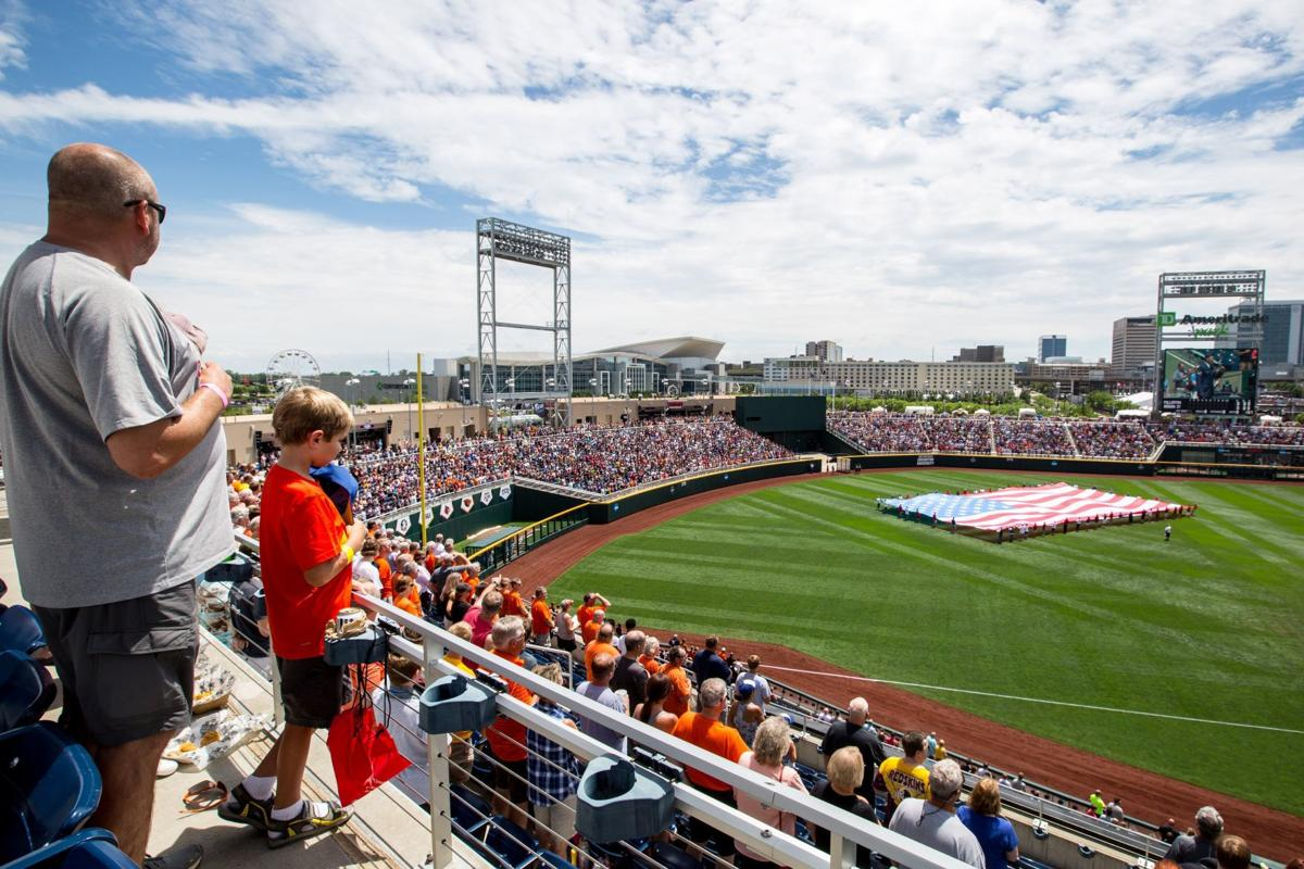 Celebrate the opening of the College World Series