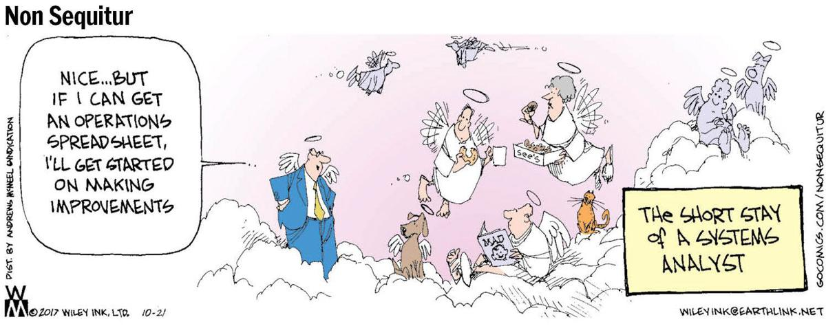 For cartoonist, See's is heavenly treat