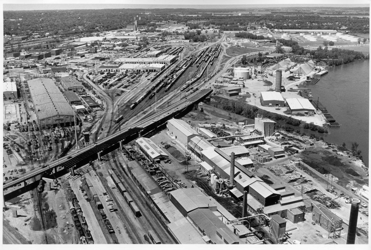 Abbott Drive overpass