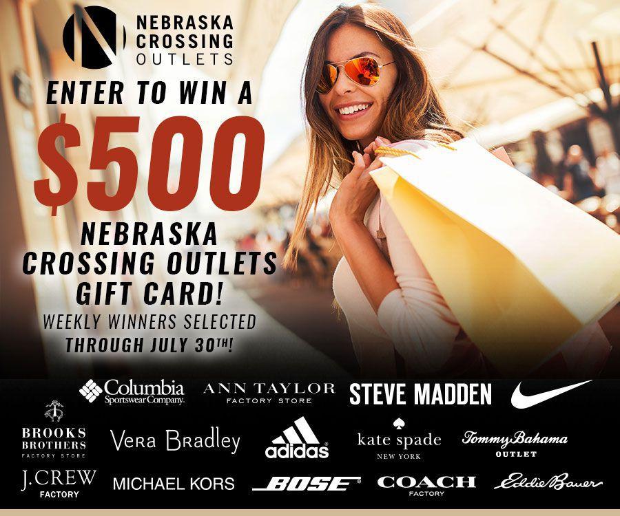 Nebraska Crossing Giveaway