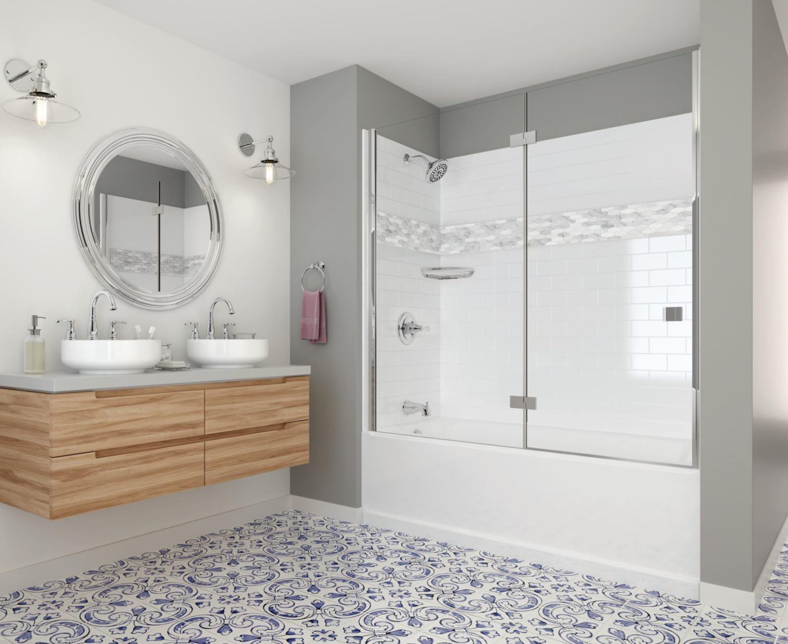 Gentil 6 Reasons To Upgrade To Prefab Shower Walls