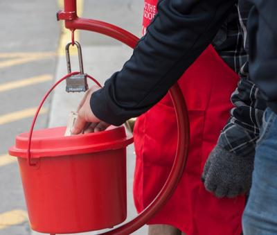 Salvation Army red kettle (copy)