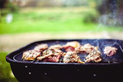 Picnic, grilling, food, outdoor