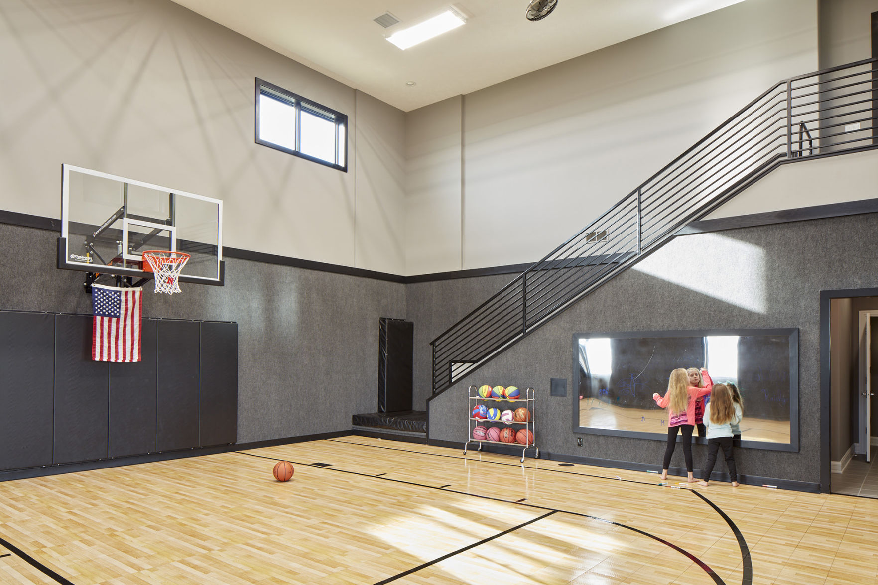 Superb Papillion Familyu0027s Dream House Includes A Sports Court With A Steel Slide  Inspired By Those At Gene Leahy Mall | Inspired Living | Omaha.com