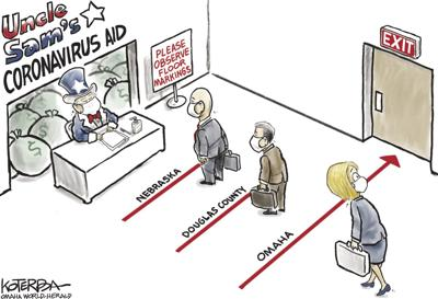 Jeff Koterba's latest cartoon: Omaha, last in line