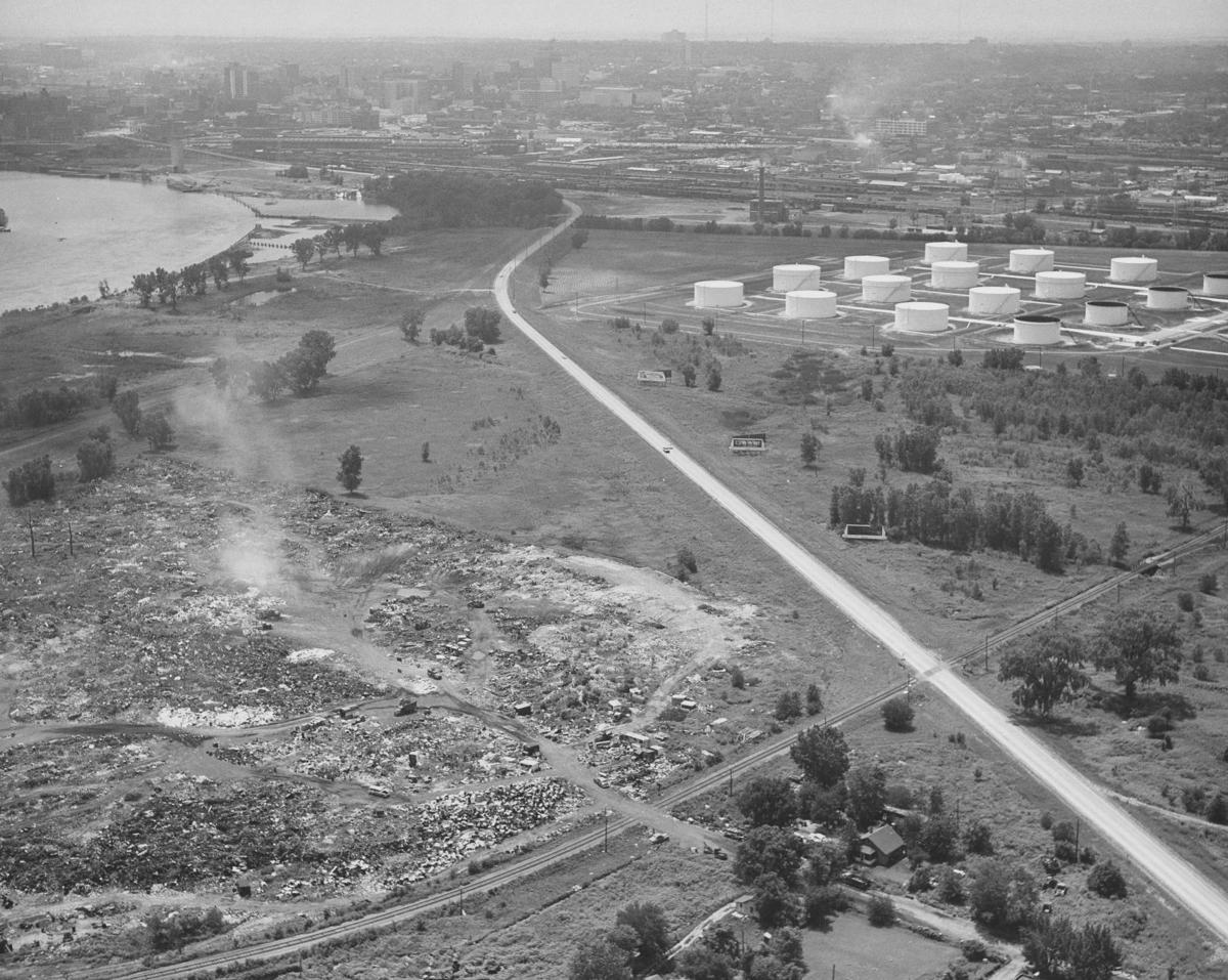 Abbott Drive in 1959