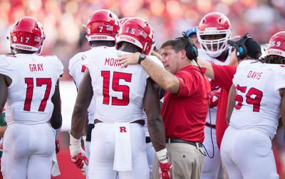 3a58d478a03 Coach Chris Ash has won three conference games now in his third season at  Rutgers.