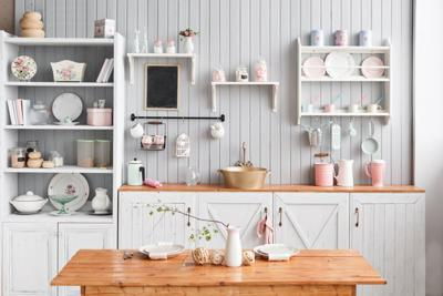a whole new kitchen on a budget inspired living