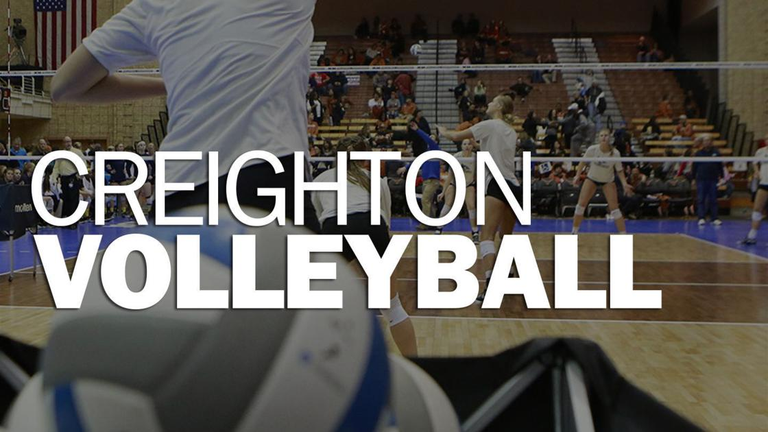 No. 9 Creighton volleyball bounce back after Villanova loss to sweep Georgetown