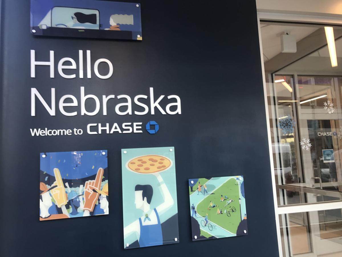 Chase bank mural