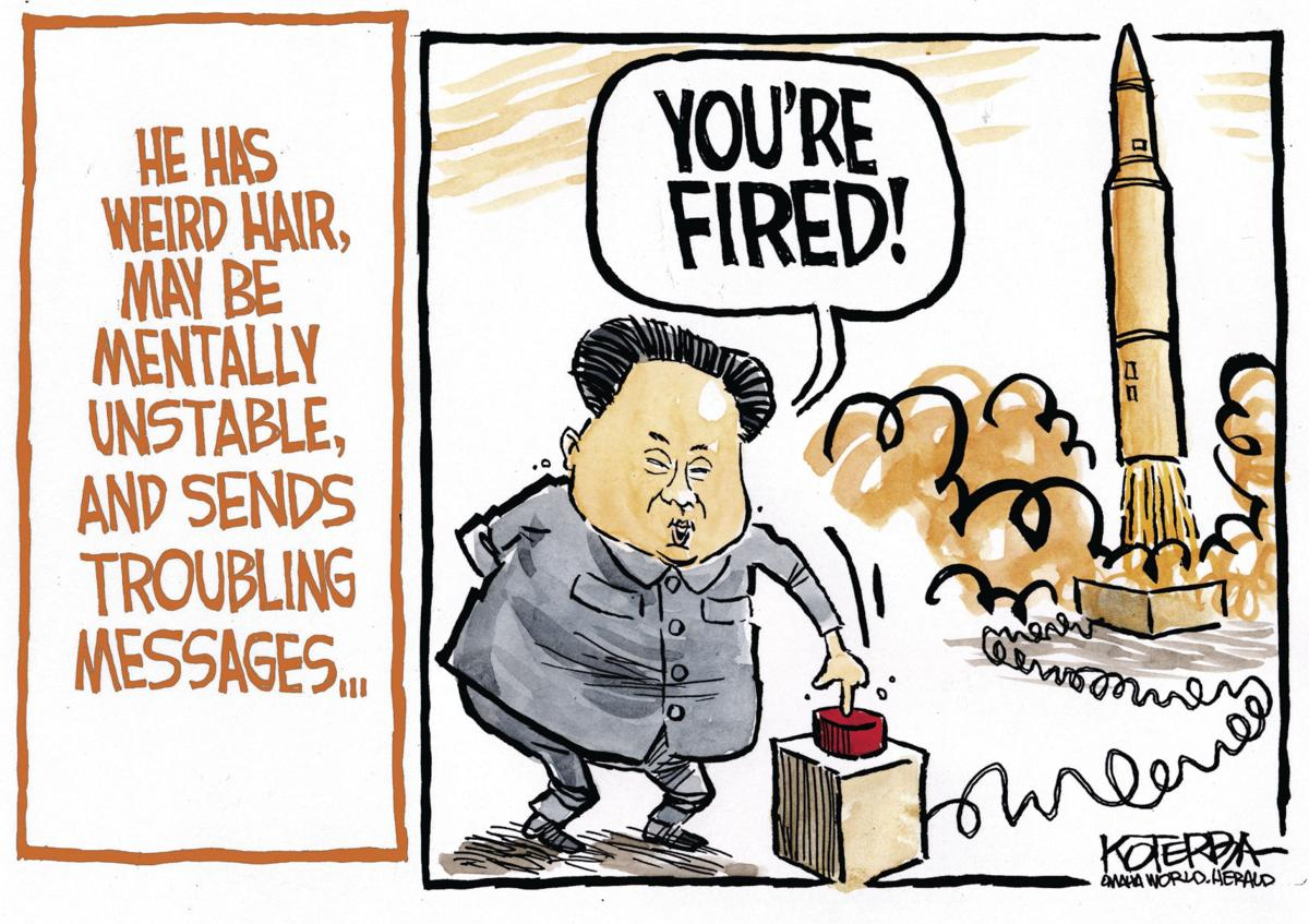 Back at You: Koterba cartoons on North Korea - July 6, 2017