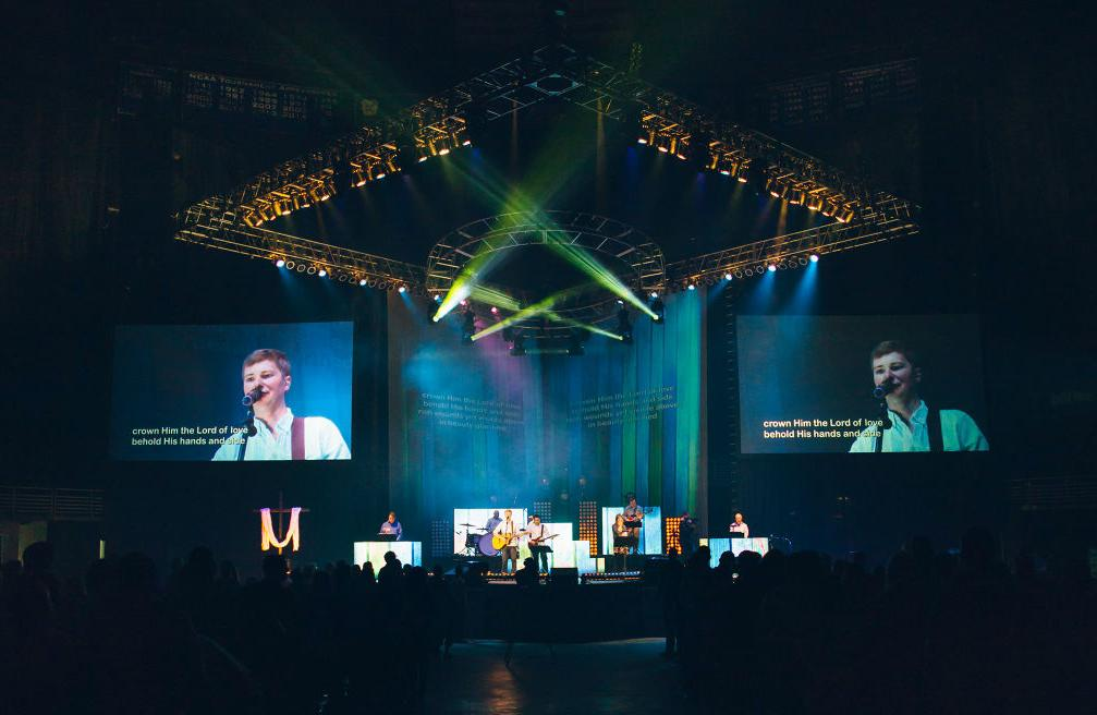 King of Kings Church's massive Easter service a daunting