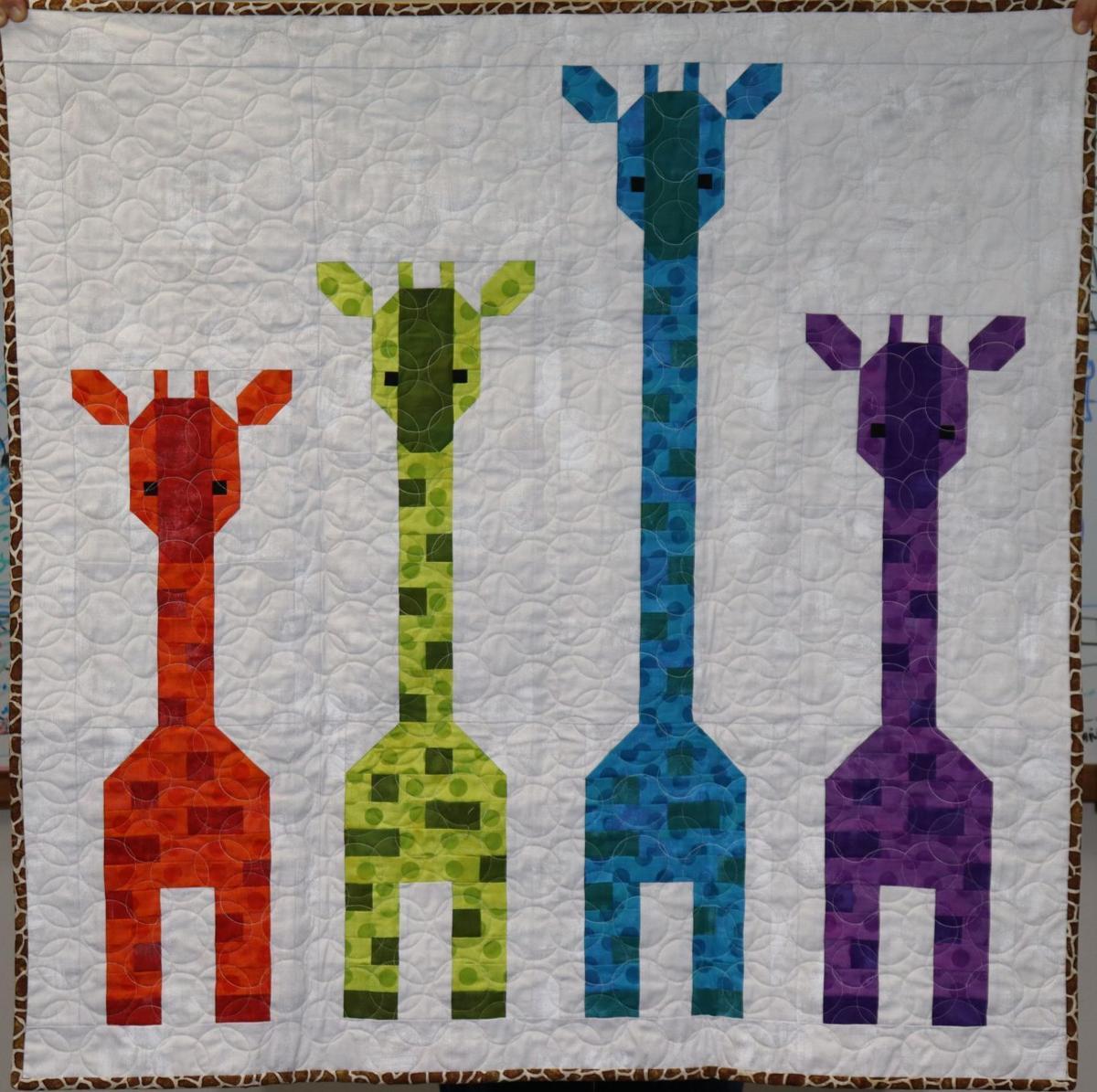 'Giraffes In a Row'