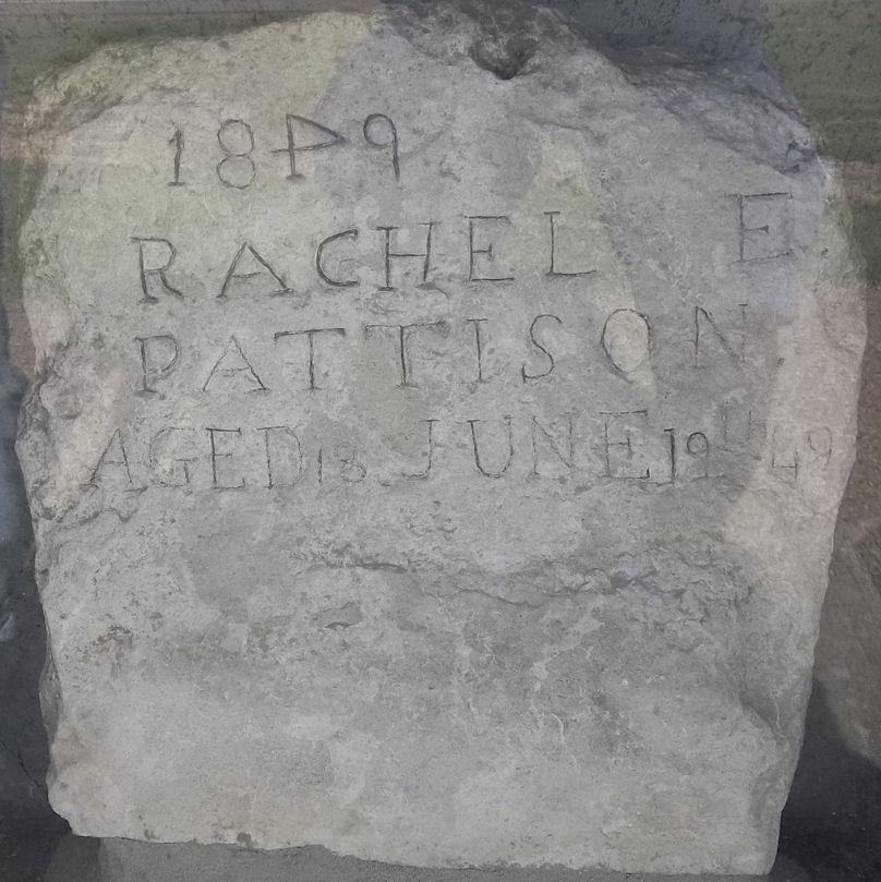 Oregon Trail grave (NE) - NOT