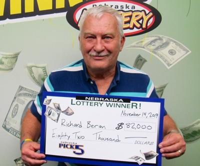 Lexington man 'flabbergasted' to claim $82K Pick 5 prize; $110K Lotto ticket sold at Omaha Hy-Vee