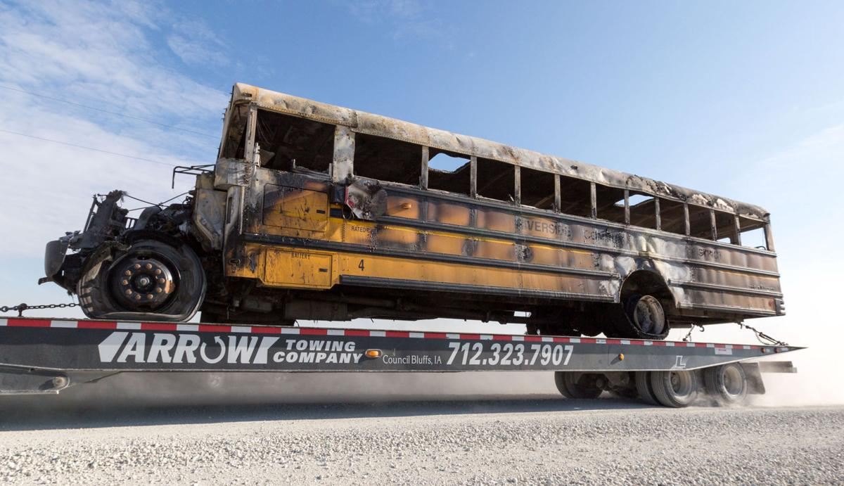 Officials Dont Have Any Answers As Investigation Of Fatal Iowa Fire Engine Backing Diagram School Bus