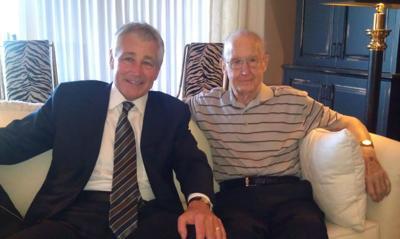 Hagel praises ex-Rep. John Y. McCollister, dead at 92, as 'wise, balanced, complete leader'