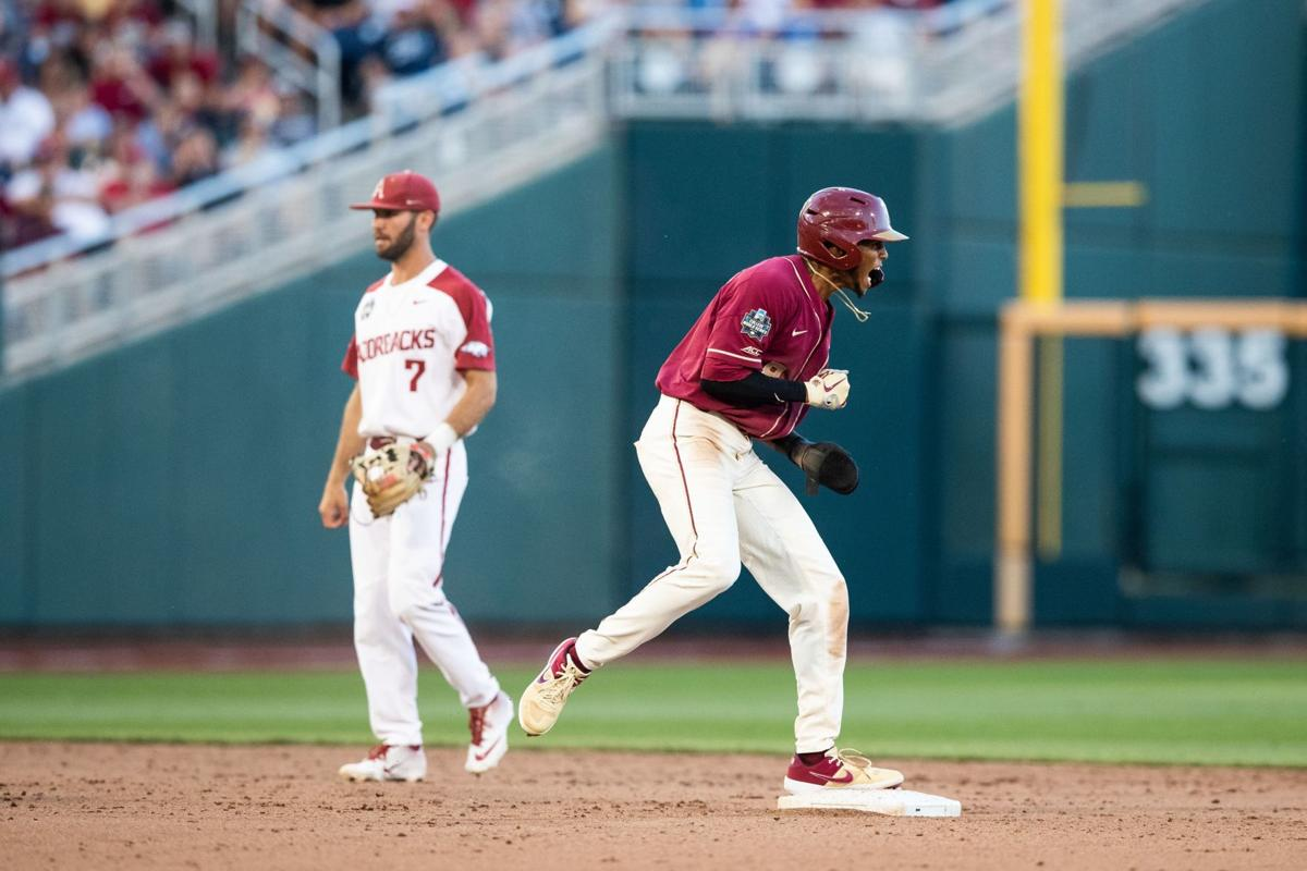 J C Flowers scores game winning run and closes out pitching duel as