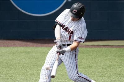 Brett Bonar batting
