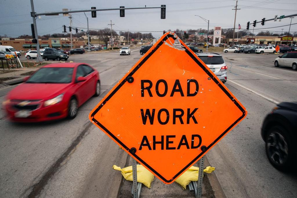 UPDATED: 10 Omaha road projects sure to detour, slow and